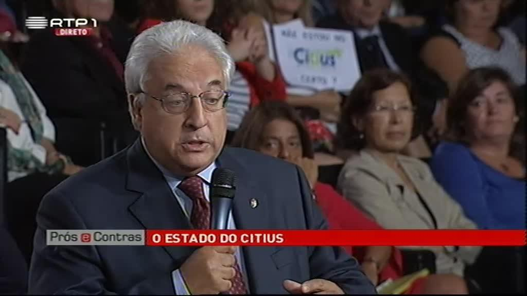 O Estado do Citius...