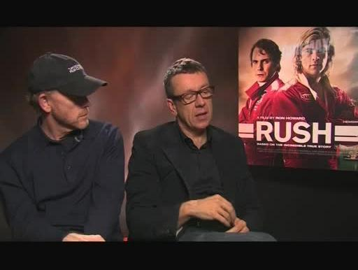 Ron Howard e Peter Morgan sobre Rush - Duelo de Rivais
