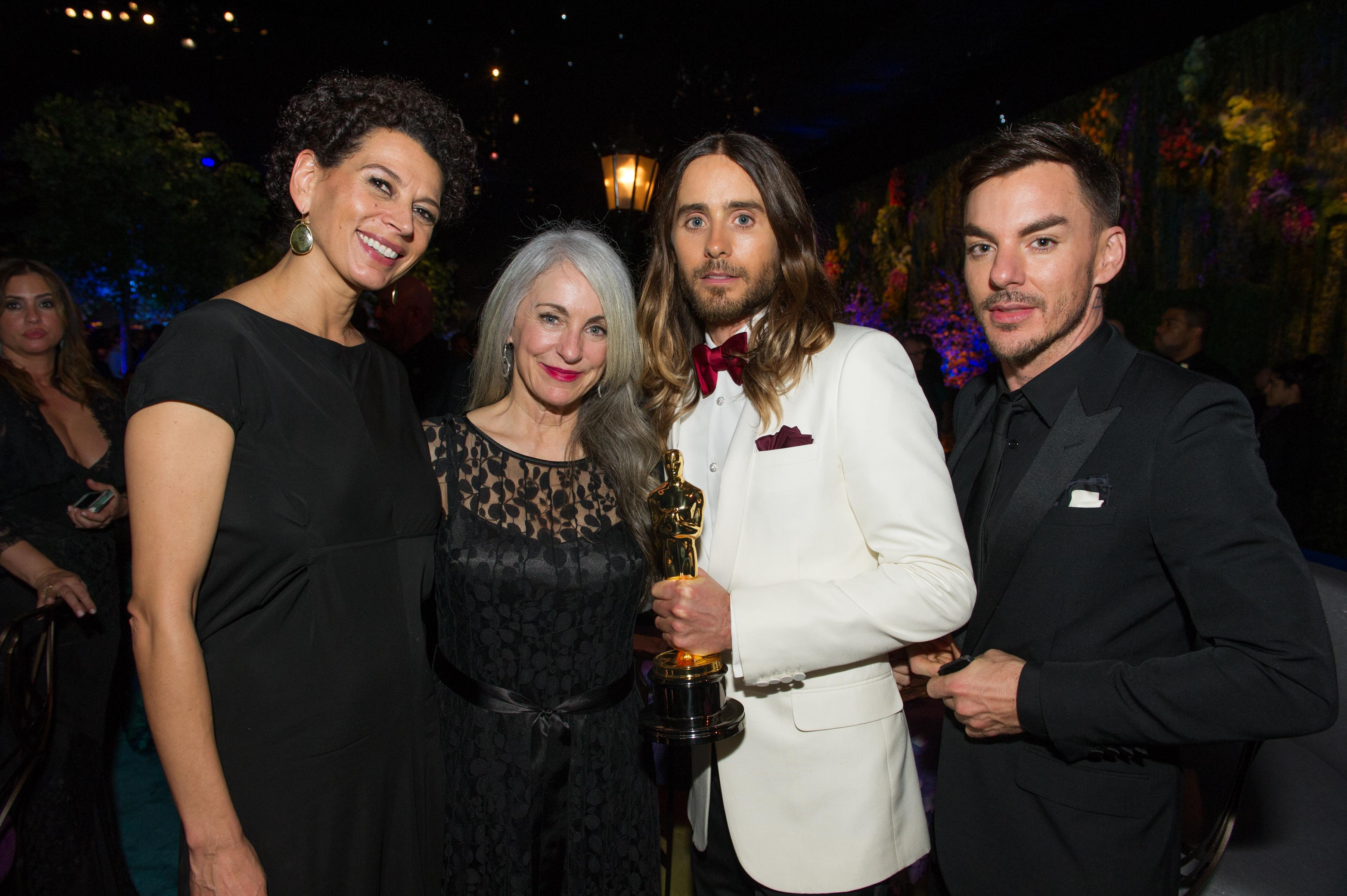 Oscars 2014: A fam�lia Leto no Baile do Governador