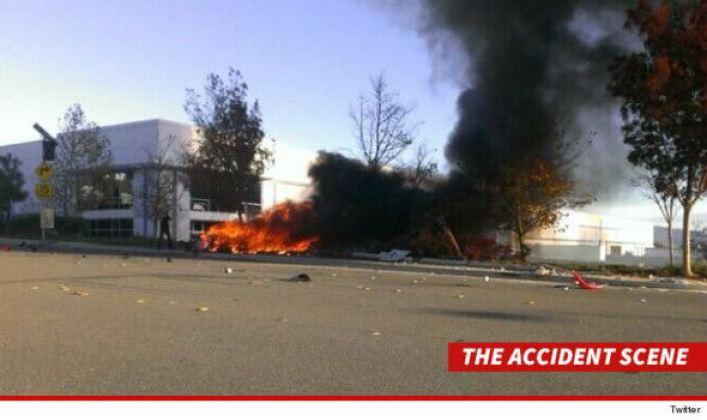 Video regista carro de Paul Walker a arder
