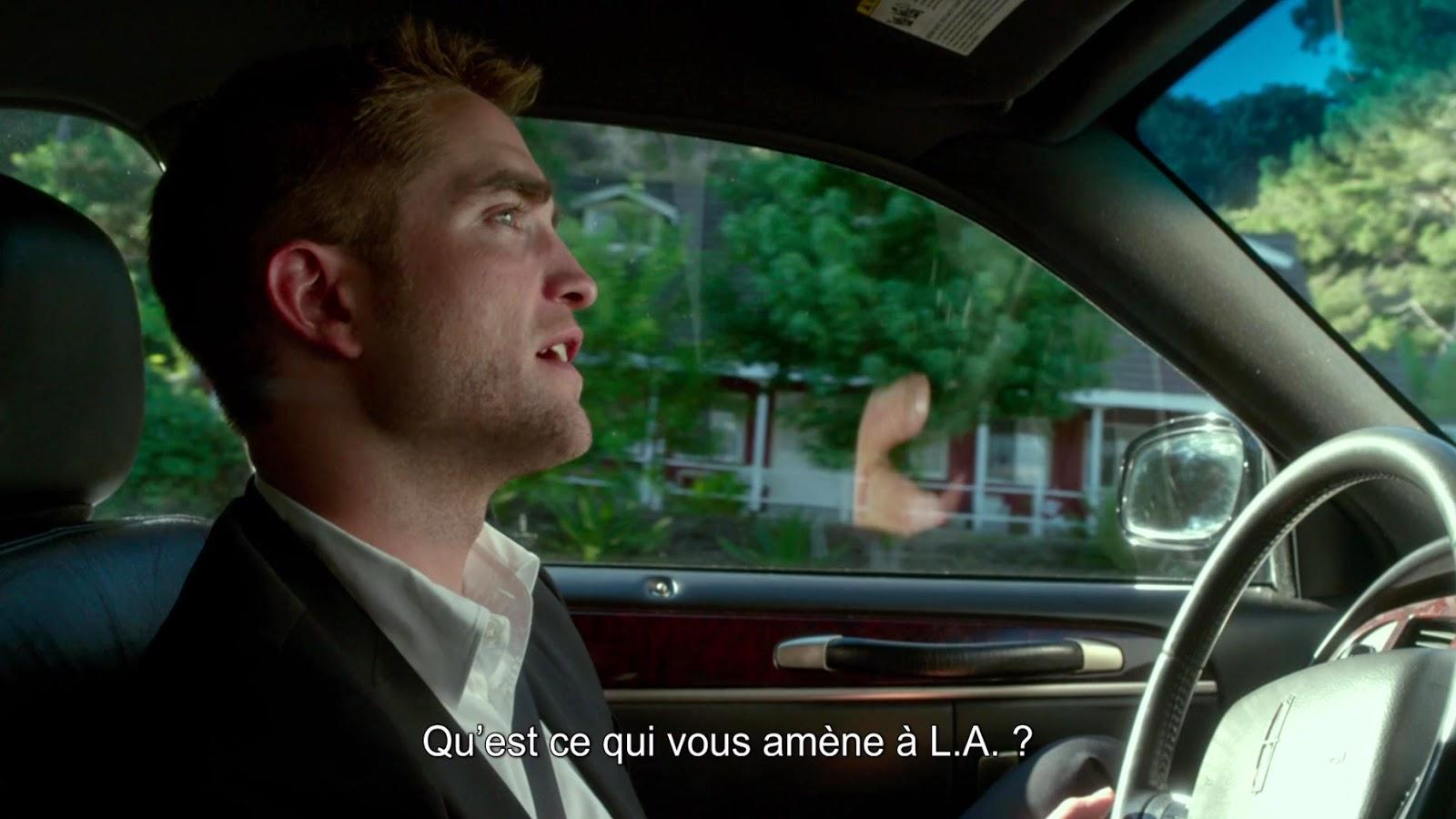 Robert Pattinson em Maps to the Stars