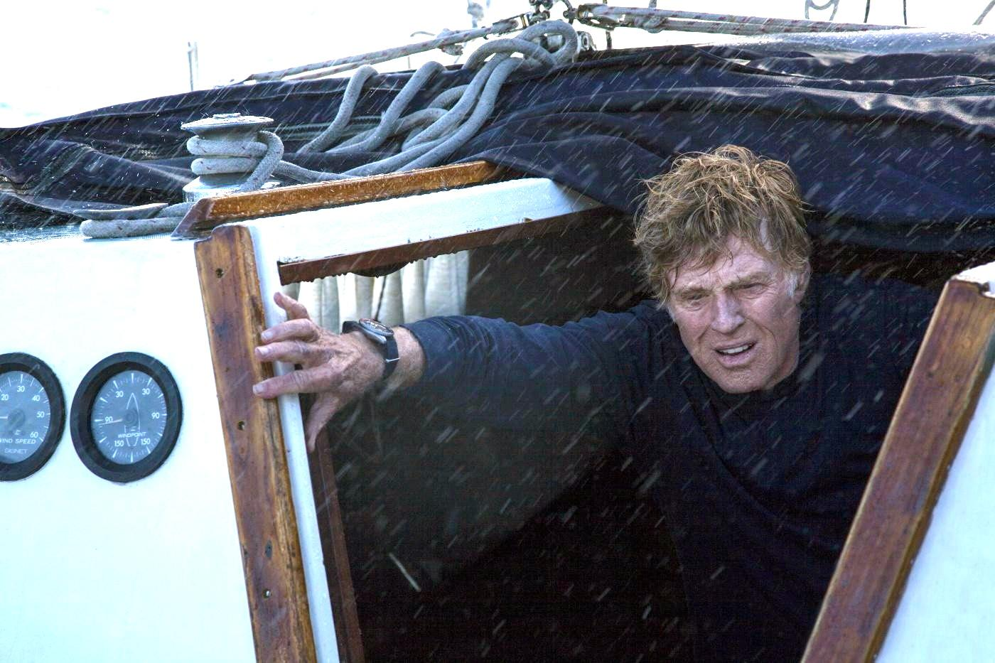 Robert Redford no alto mar