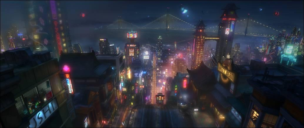 Big Hero 6: Disney une-se � Marvel tamb�m na anima��o
