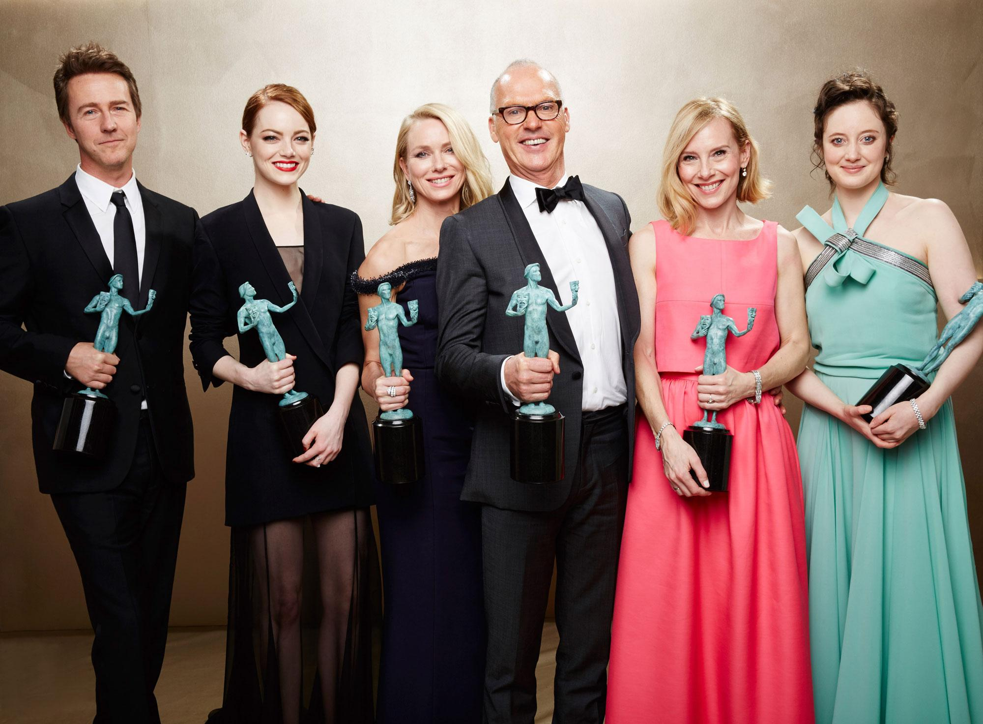 SAG Awards: Atores premeiam Birdman