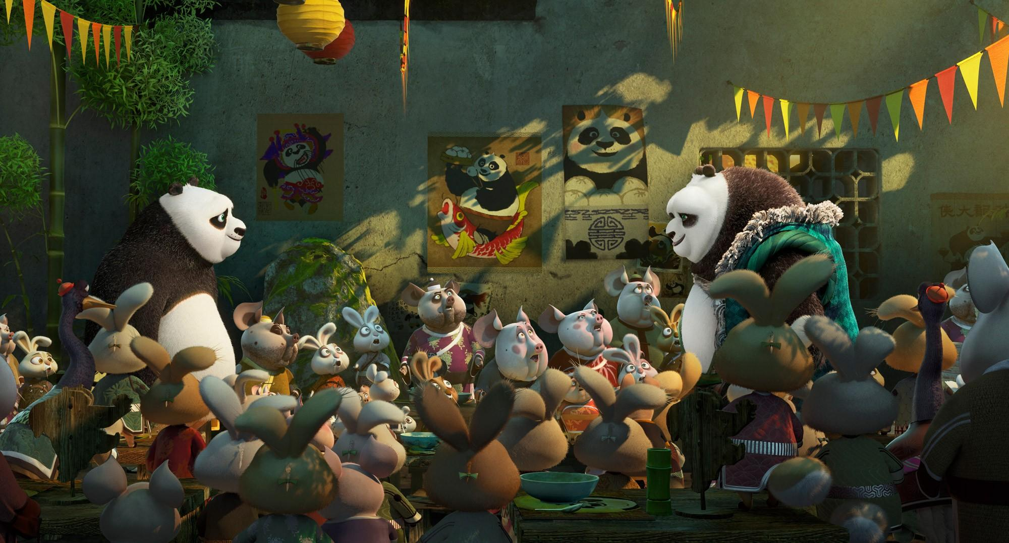 O Panda do Kung Fu 3 na frente do box office mundial