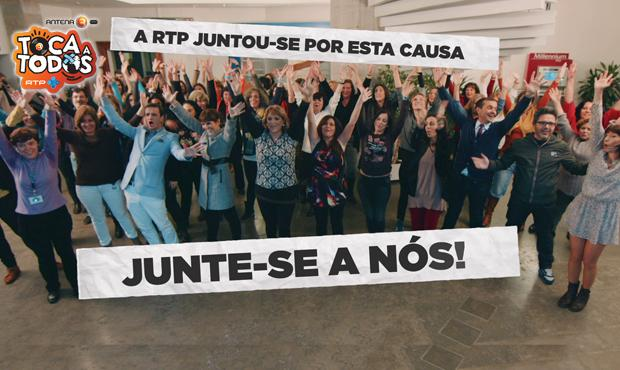 Toca a Todos - V�DEO Flash Mob