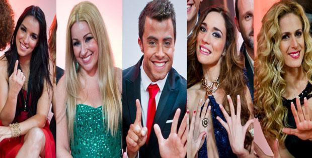 Extra! - Finalistas do Festival da Can��o