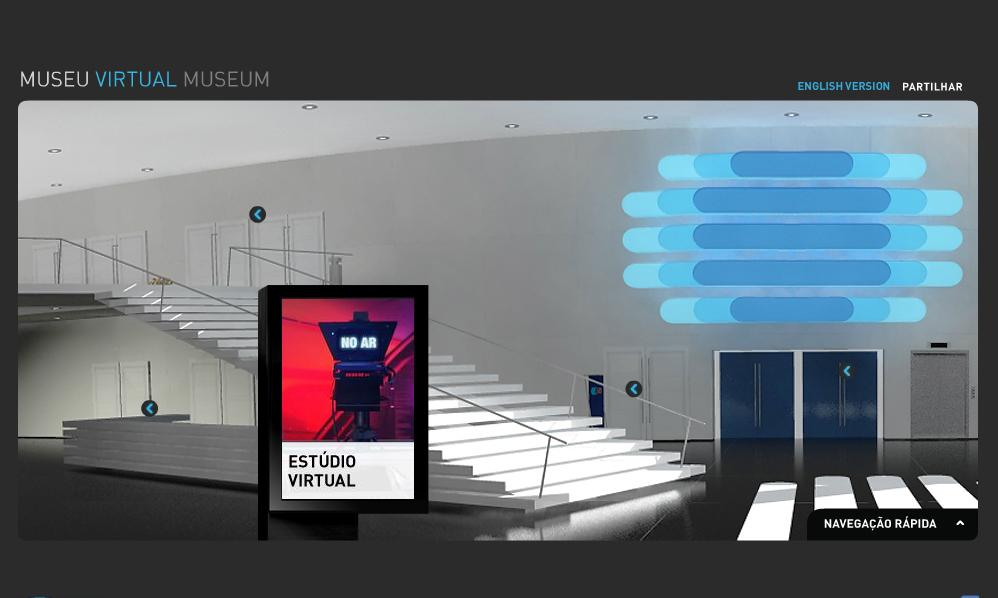 Museu virtual - site