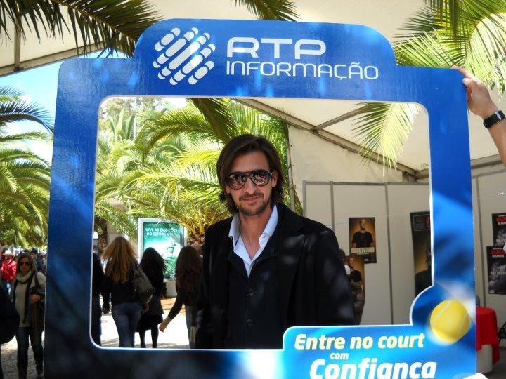 A RTP Informa��o no Estoril Open 2012