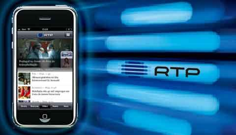 RTP LAN�A APLICA��O PARA IPHONE E IPAD