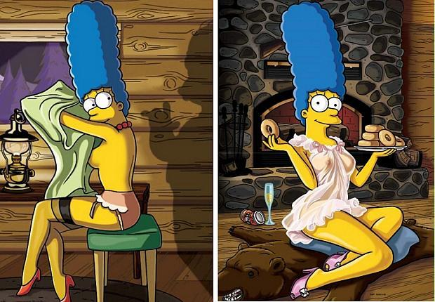 Sexy Marge na Playboy