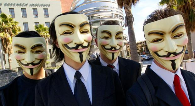 Anonymous divulga conversa do FBI e Scotland Yard sobre… piratas informáticos