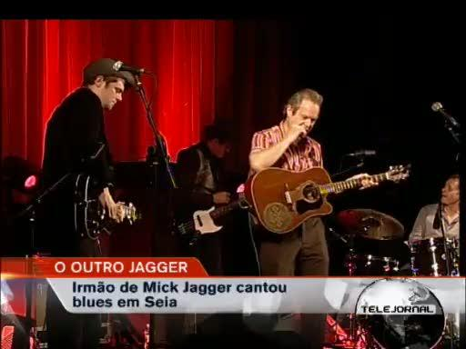Chris Jagger cantou blues em Seia