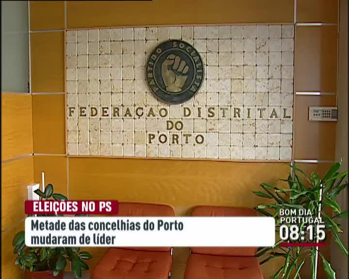 Pol�tica - Metade das concelhias socialistas do distrito do Porto mudam de l�der