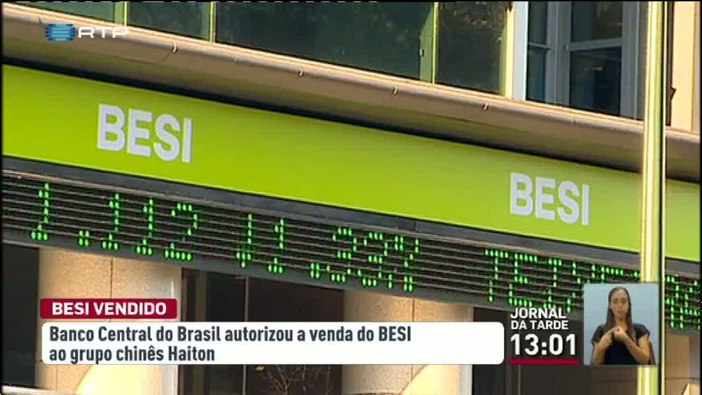 Economia - Banco Central do Brasil d� luz verde � venda do BESI