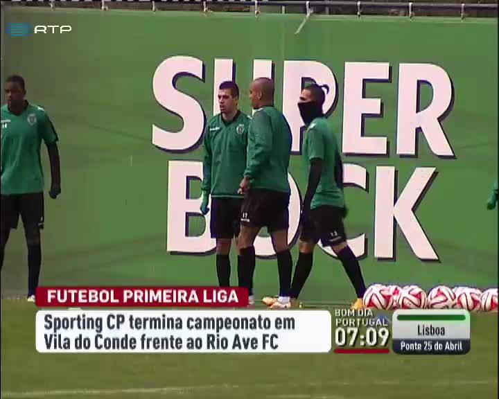 Desporto - Jefferson em d�vida para despedida do Sporting do campeonato