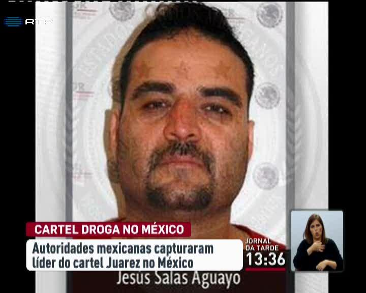Mundo - Autoridades mexicanas capturaram l�der do cartel de Juarez no M�xico