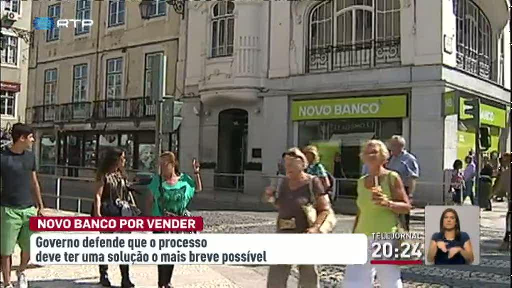 Governo defende solu��o r�pida para a venda do Novo Banco