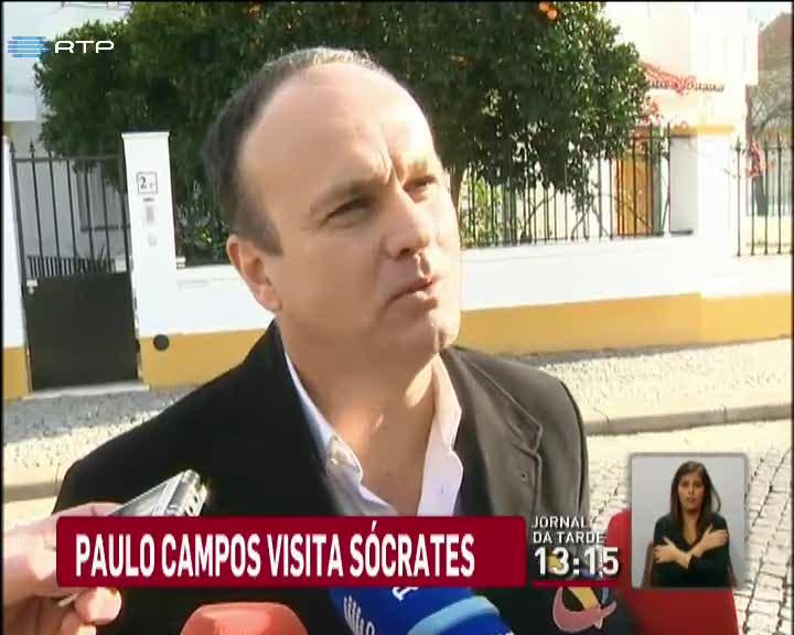 Pa�s - Paulo Campos visitou S�crates