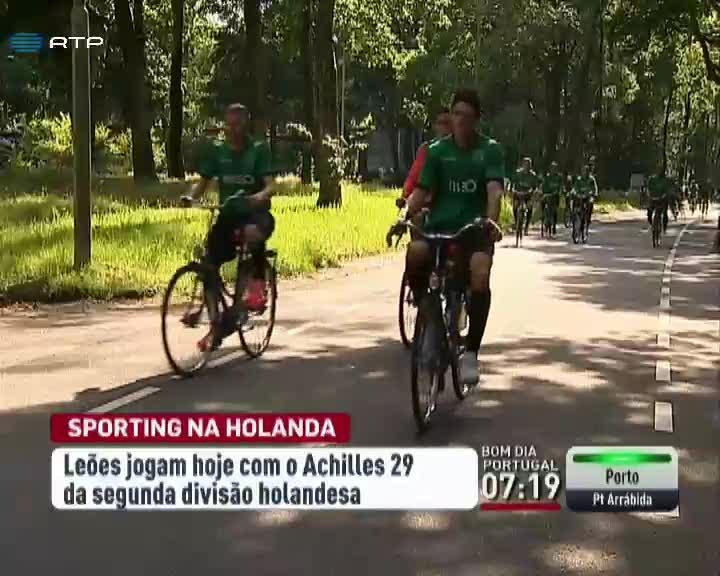 Desporto - Sporting aquece motores diante do Achilles 29
