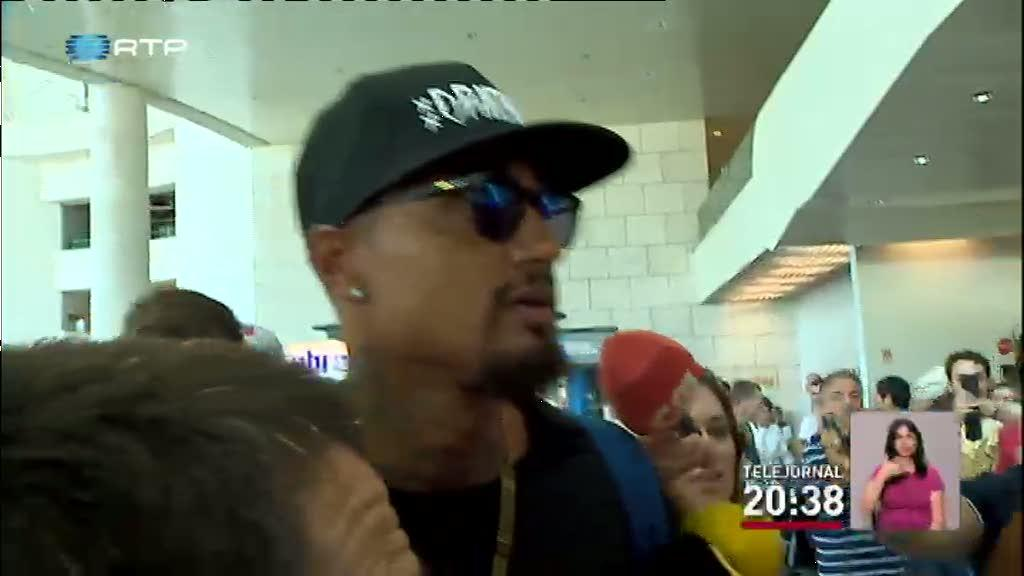 Kevin Prince Boateng vai refor�ar o Sporting