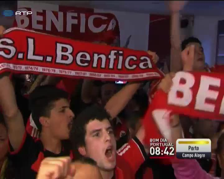 Desporto - Paris tamb�m foi do Benfica